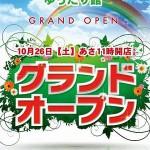 ダイナム群馬桐生店(2013年10月26日グランドオープン・群馬県)