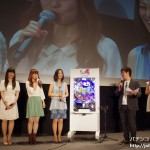 三洋、「CR 咲‐Saki‐」プレスイベントに声優・植田佳奈ら登場