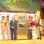 三洋、「CRギンギラパラダイス 情熱カーニバル」特別先行展示会を開催