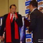 平和、「CR燃える闘魂アントニオ猪木~格闘技世界一決定戦~」発表展示会を開催