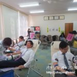 中部遊商、恒例の献血活動を実施