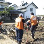 同友会、長野市での災害復興ボランティアに23名を派遣
