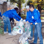 関西遊商、浪速公園で10回目となる清掃活動を実施