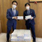 キング観光、マスク5000枚を桑名市に寄贈