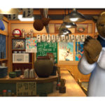 ネット、「スナイパイ71」「熊酒場2丁目店」のバーチャル背景を無料で提供