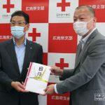 中国遊商、日本赤十字社広島県支部にマスク2万6000枚贈呈