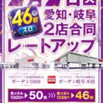 マリオンガーデン1000(2020年7月7日リニューアル・愛知県)