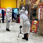 従業員のコロナ感染により休業中の『ダイナム松阪店』、消毒を終え18日より営業再開