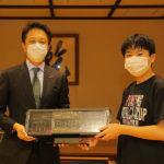 NEXUSグループ、太田市フェンシング協会へ電気審判器を寄贈