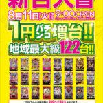 PREST平間店 200円182玉パチンコ増台!(2020年8月11日リニューアル・神奈川県)