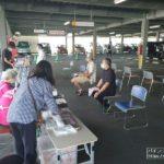 玉屋、コロナによる血液不足を解消すべくパチンコ店駐車場で献血活動