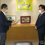 関西遊商、防犯カメラ寄贈に対し大阪市から感謝状授与