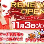 ビックマーチ真岡店(2020年11月3日リニューアル・栃木県)