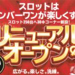 No.1松本筑摩店(2021年2月25日リニューアル・長野県)