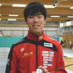 NEXUSフェンシングクラブ所属の敷根選手が東京オリンピック代表に決定
