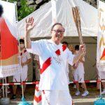 成通グループの千原代表、東京オリンピック2020聖火リレーイベントに参加