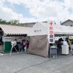 『玉屋中尾店』で献血を実施、114名が参加