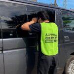 回胴遊商・東北支部、「幼児車内放置ゼロ」巡回活動の特別強化週間を実施